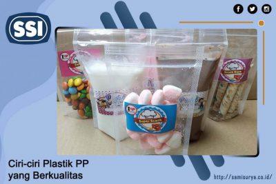 Ciri-ciri Plastik PP yang Berkualitas